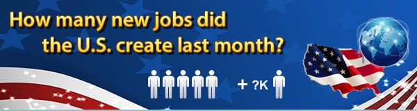 How many new jobs did the U.S. create last month?