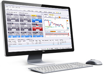 Trading Station on Desktop
